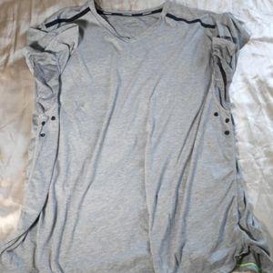 Nike running grey shirt size - 2XL
